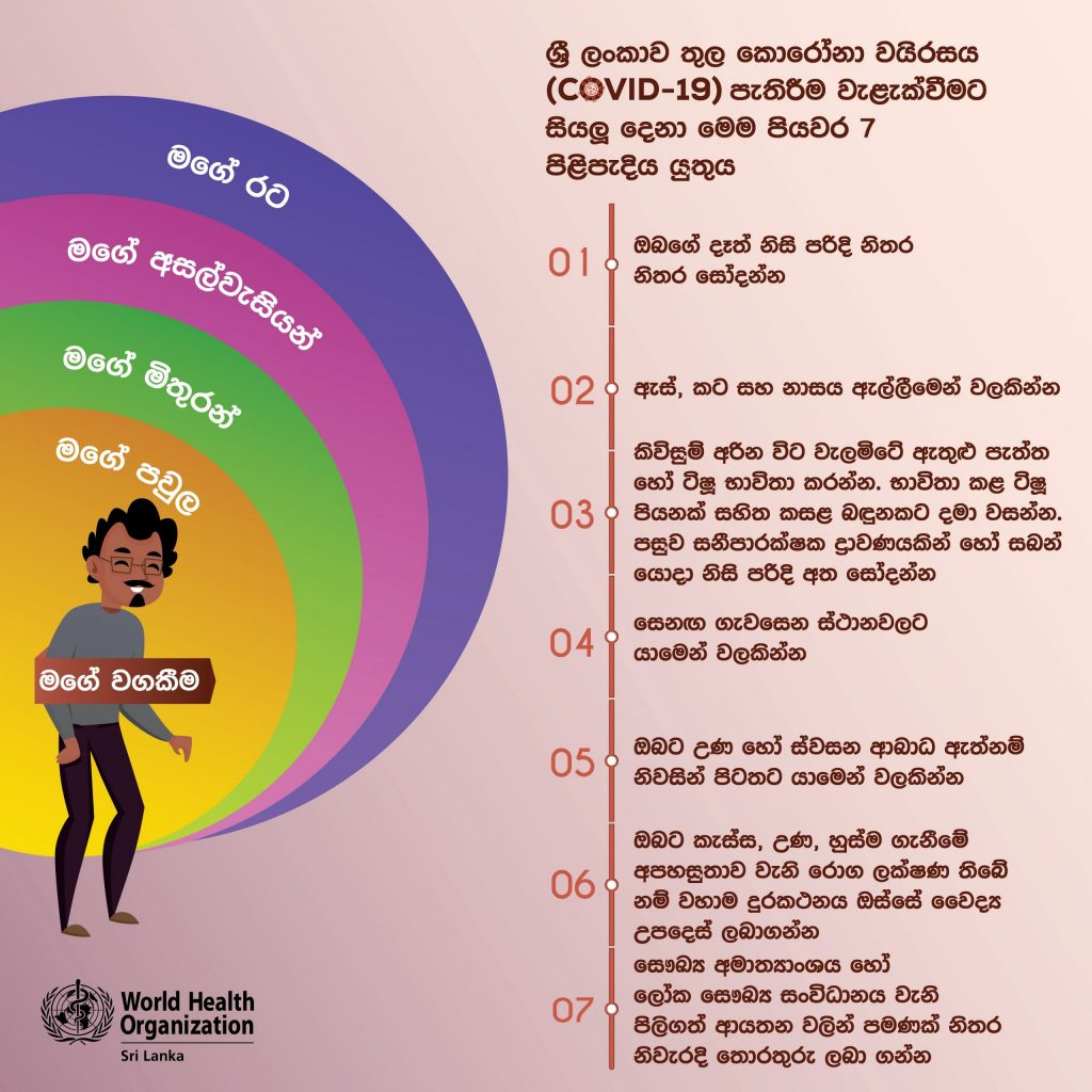 Public awareness campaign for the prevention of COVID-19